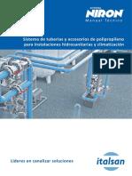 Manual PP-R NIRON 2016 de Italsan