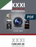 Catálogo XXXI Concurso Fotográfico Villa de IBI 2010