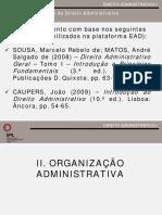 DA_I_2016_2017_II_ORGANIZAÇÃO ADMINISTRATIVA_1ª parte