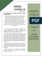 LA ARGENTINA ANTE EL COVID-19