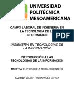 Campo Laboral de Tecnologias de La Informmacion