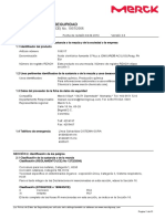 Acido Clorhidrico fumante 37% MSDS Merck