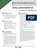 XXIX - Exame Administrativo - SEGUNDA FASE_IFM
