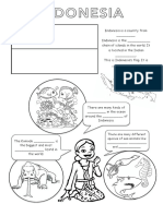 Unit 3. Indonisia's facts coloring page