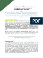 Cisc Covid-19 Exposure Prevention Preparedness and Response Plan 4839-3808-6584 1