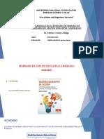 SEMINARIO DE GESTION EDUCATIVA Y LIDERAZGO