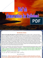Bi'Dah - The Innovation in Religion (Truth Exposed)