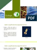 Especialidade Ecología