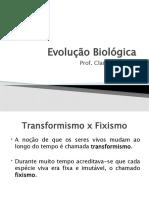 aula-02-Evolu+º+úo Biol+¦gica