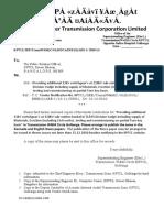 PRO Letter & Tender Notification