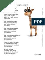 Carmen Gil - Las gafas de la jirafa