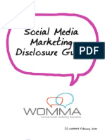 Social Media Marketing Disclosure