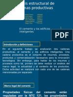 SEGUNDA PRESENTACIÓN CADENAS PRODUCTIVAS