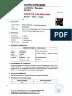 Calibracion Telurometro 2020