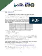 CCHS Corona Update 3-31-2020