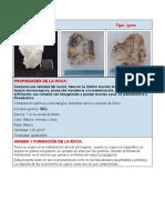 Ficha técnica - cuarzo lechoso y serpentina