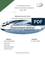 Financement Interne (1)
