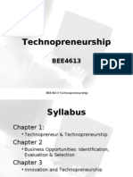 C1 Technopreneurship