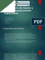Cuadratura de Gauss.pptx