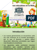 Recursos Educativos en La Web