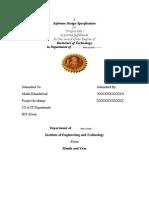 IET Design Specification