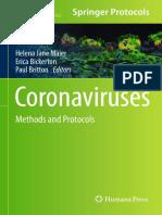 Coronaviruses Methods and Protocols - Helena Jane Maier 2015