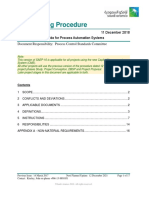 SAEP-16 Project Execution Guide for Process Automation Systems
