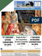 INFORMATIVO JORNAL CAPUL  - EDIÇÃO 119 - DEZEMBRO DE 2010 - UNAÍ-MG