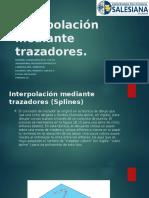 Interpolación mediante trazadores