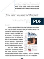 APP - Jornal Escolar -Projecto Multidimensional