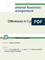 IBM, Session 2(Cultural Differences)