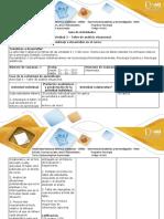 Guia de actividades y rùbrica de evaluación - Actividad 3 - Taller de analisis situacional