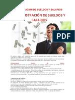ADMINISTRACIÓN DE SUELDOS Y SALARNDHDIOS