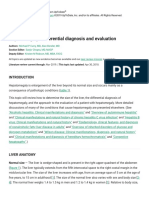 Hepatomegaly_ Differential diagnosis and evaluation -UTD 2018.pdf