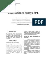 informe de spt
