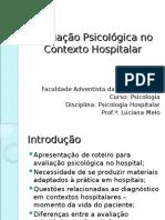 Avaliação Psicológica no Contexto Hospitalar