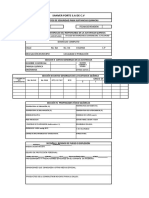 Formato de Hoja de datos de Seguridad Sustancias Químicas peligrosas