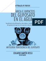 Dinámicas e Impactos del Glifosato en el Agua