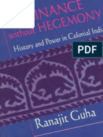 Dominance without Hegemony History and Power in Colonial India.pdf