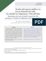 Berroeta, H. y Muñoz, M. I. (2013). Usos y significados del espacio público en personas en situación de calle. Un estudio en Valparaíso y Viña del Mar. Revista de Psicología, 22(2), 3-17.pdf