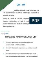 Cut - Off