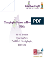managing the bladder and bowel in spina bifida