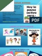 PAUSAS ACTIVAS ACELERACIÓN