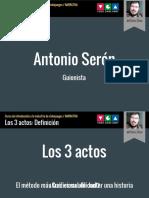 Los 3 actos