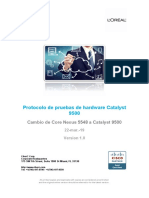 Protocolo de pruebas de hardware Catalyst 9500