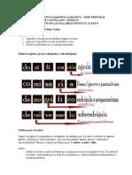 Guía grado 6 Castellano - Clasificación de las palabras según sus acento