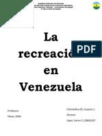 La recreación en Venezuela.docx