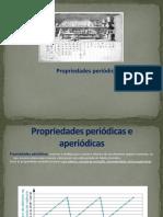 Propriedades periódicas (1)