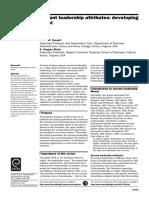 Russell & Stone_Pratical Model for Servant Leadership
