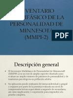MMPI-2 clase